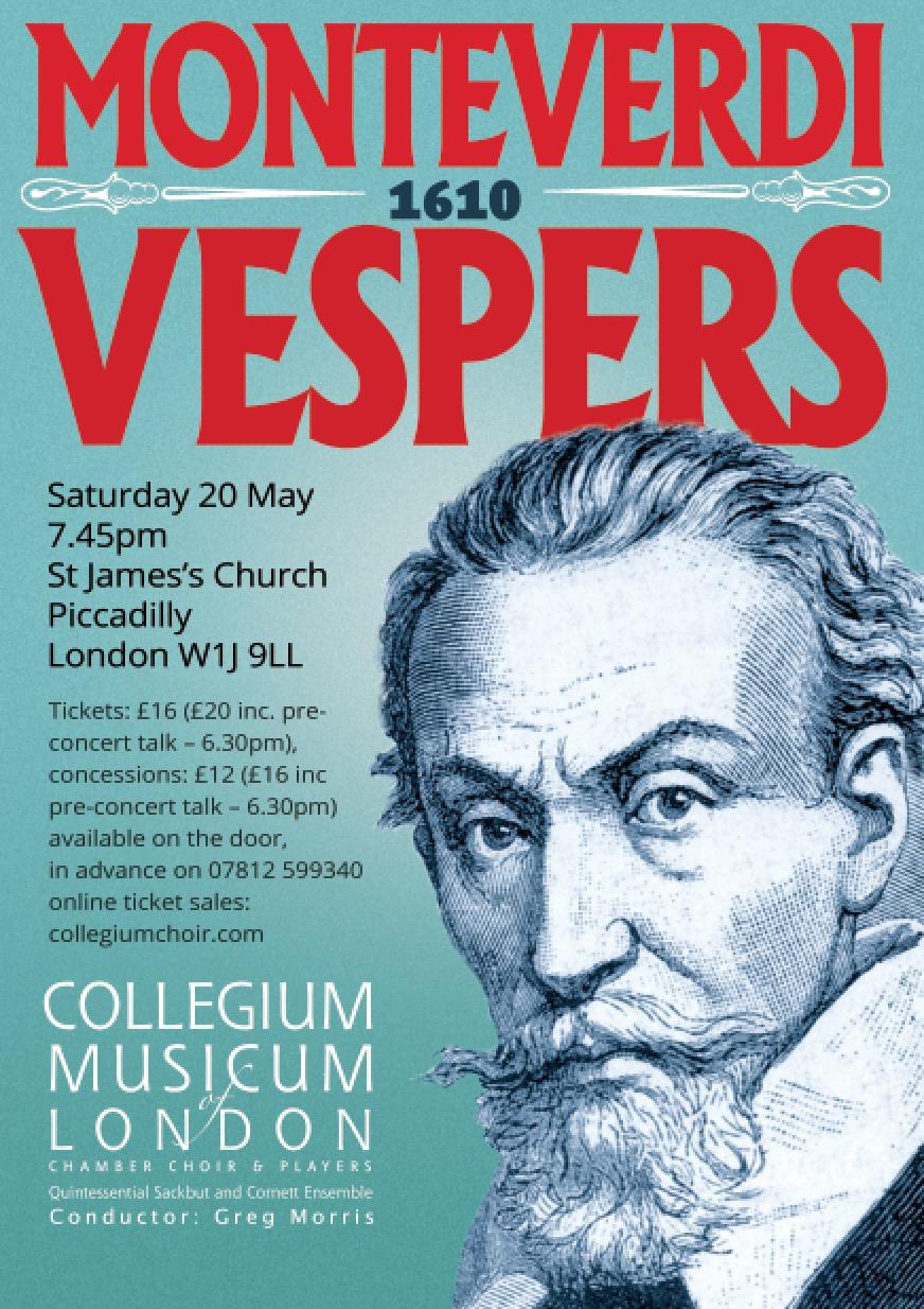 CML Chamber Choircelebrates Monteverdi with triumphant Vespers