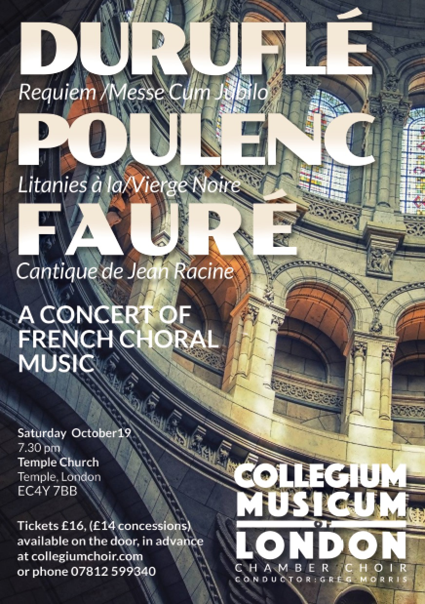 CML celebrates French choral works